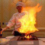 protección contra incendios en un restaurante