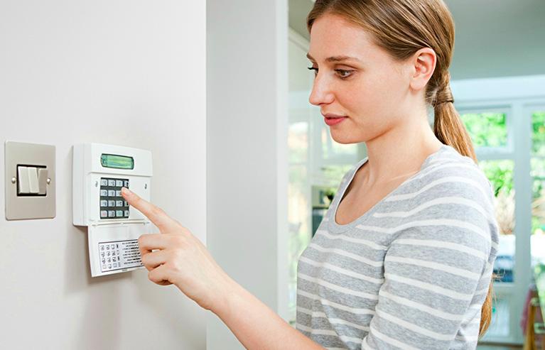 activar la alarma de tu casa