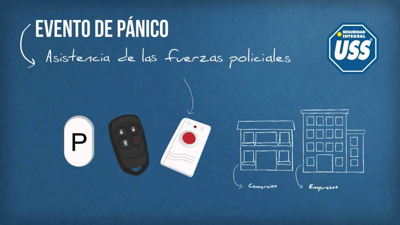 botón de pánico inalámbrico