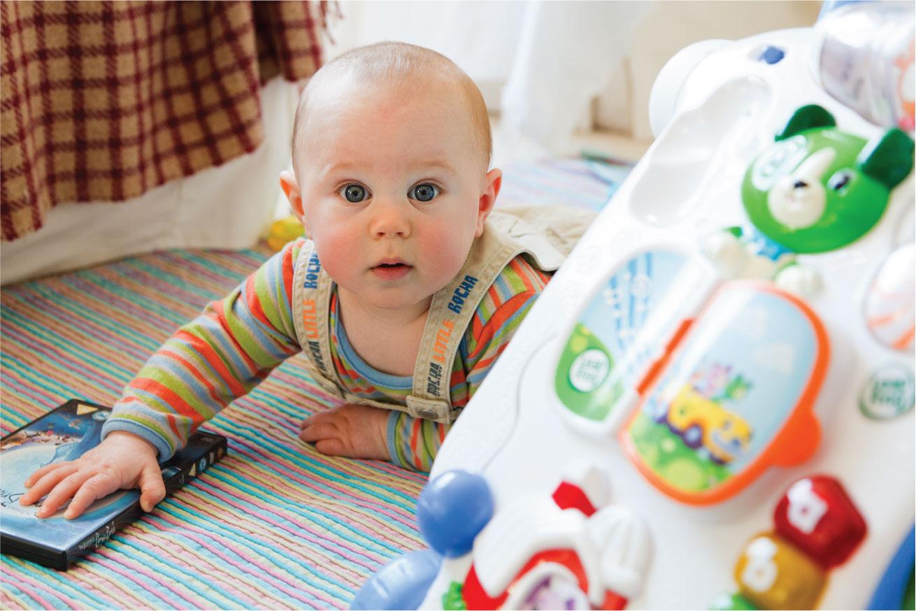 medidas de seguridad para bebes en el hogar