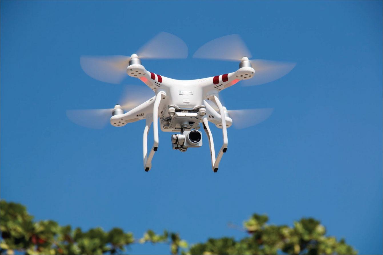 seguridad con drones