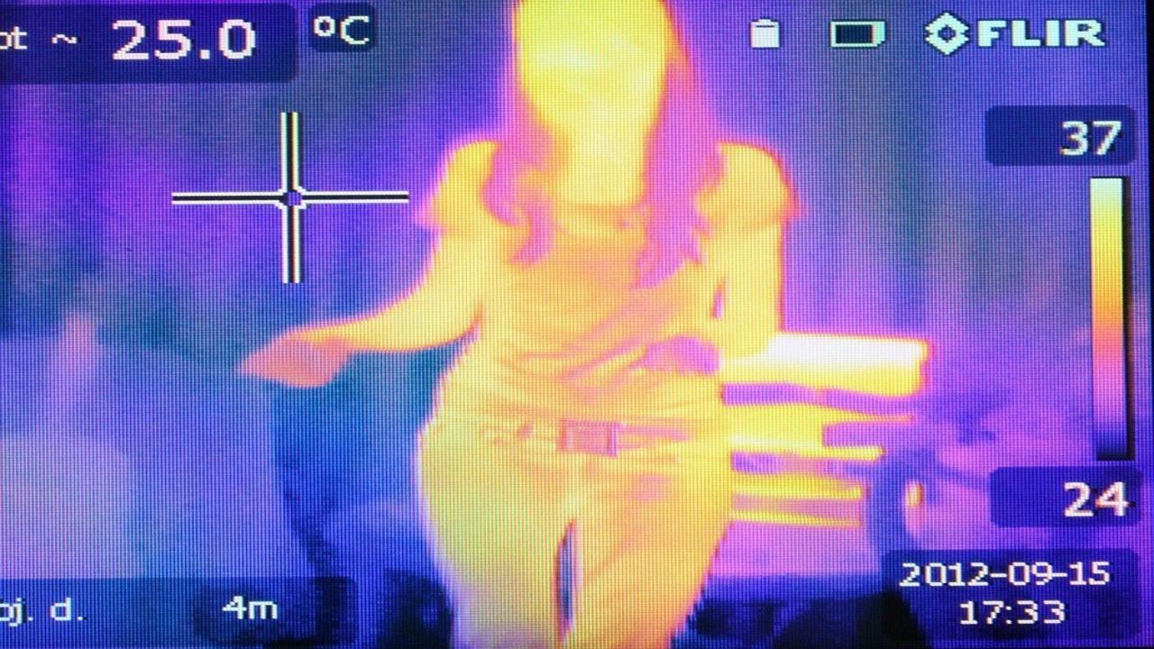 cámara infrarroja