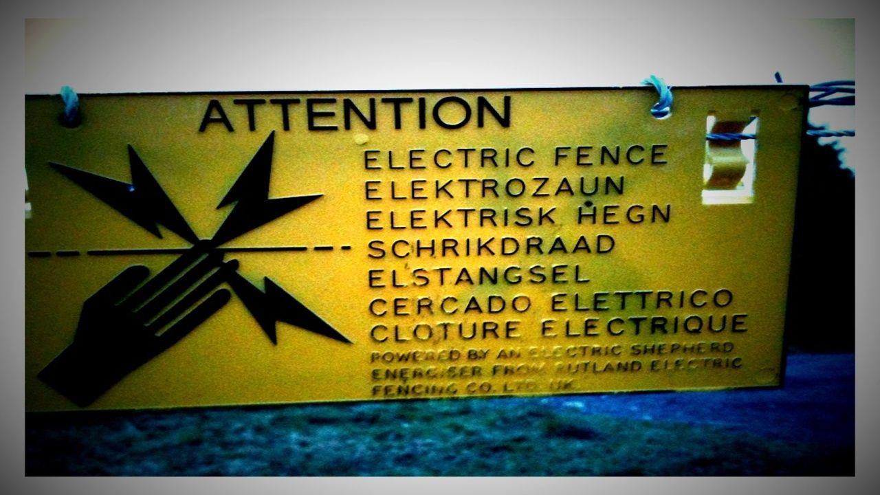 cómo debe ser la instalación de una cerca eléctrica