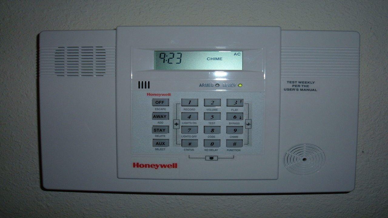 panel de alarma