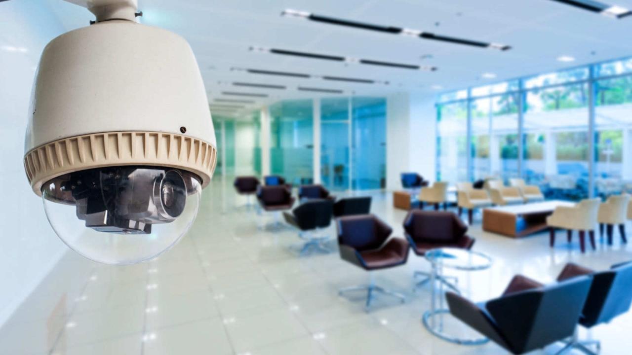cámaras de seguridad en empresas